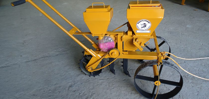 Animal Drawn Maize/Beans Precision Planter
